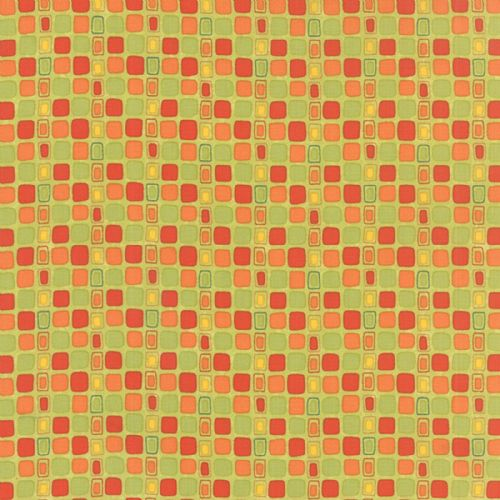 Moda - Block Party Squares (Multi) Fabric